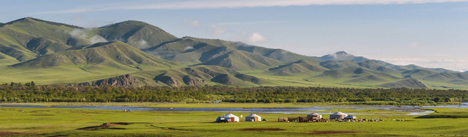 Mongolia's big sky and vast fenceless landscapes
